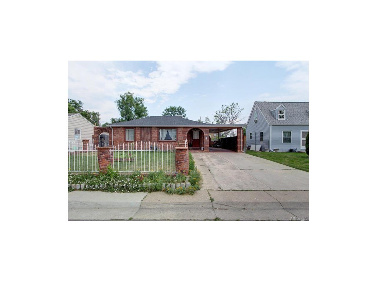 4870 Raritan Street, Denver, CO 80221 (MLS #4286193) :: 8z Real Estate