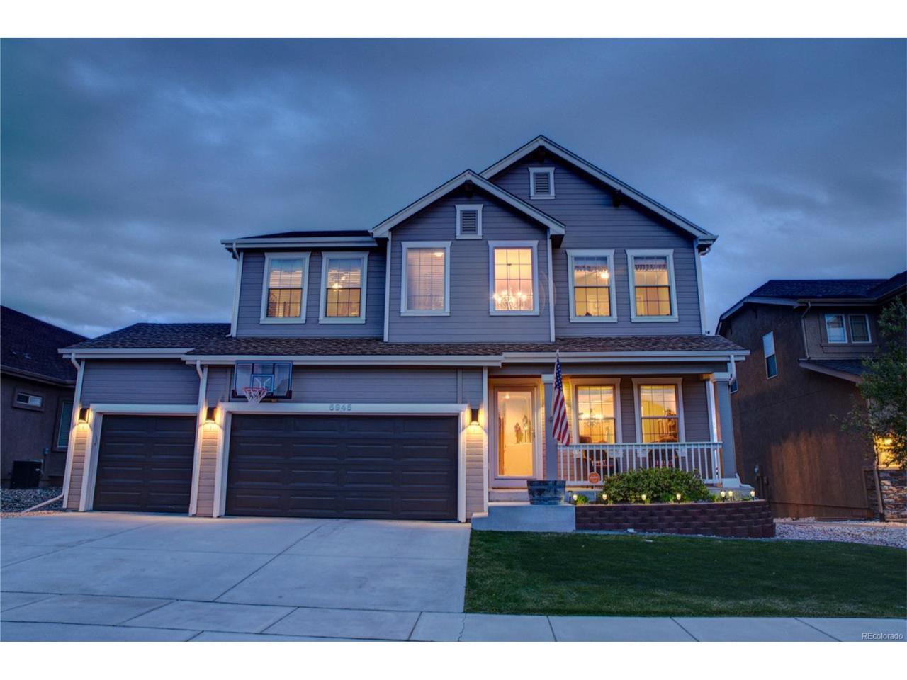 5945 Abbey Pond Lane, Colorado Springs, CO 80924 (MLS #4374274) :: 8z Real Estate