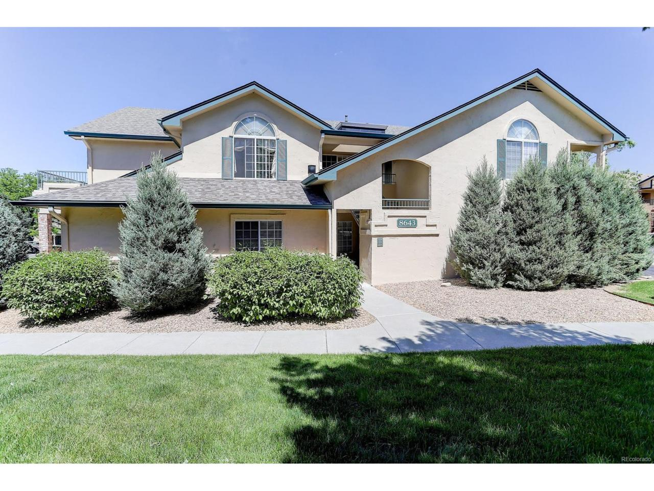8643 E Dry Creek Road #1221, Centennial, CO 80112 (MLS #4423030) :: 8z Real Estate