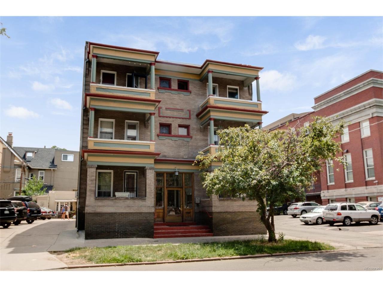520 E 14th Avenue #4, Denver, CO 80203 (MLS #4456629) :: 8z Real Estate