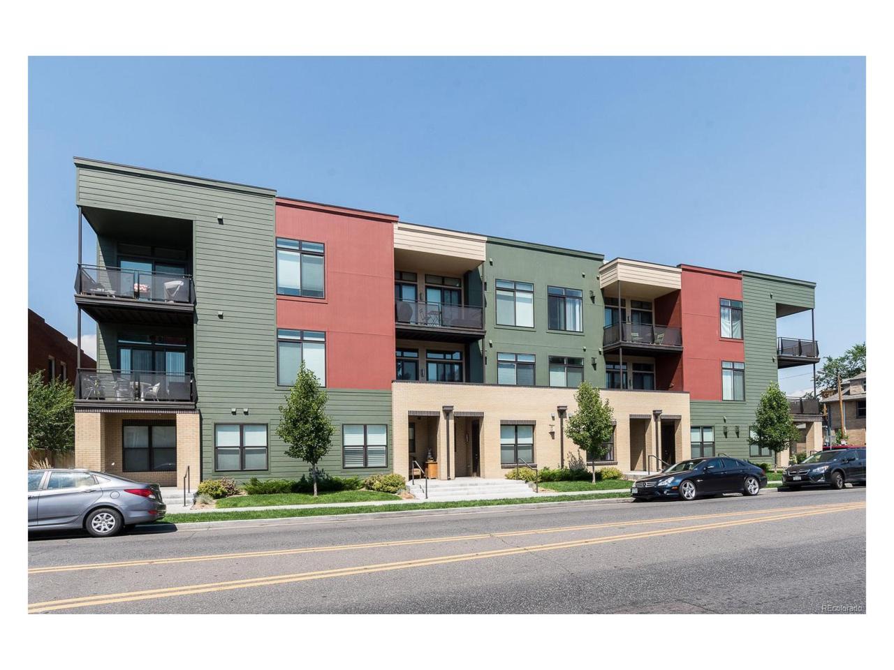 336 E 1st Avenue #104, Denver, CO 80203 (MLS #4466818) :: 8z Real Estate