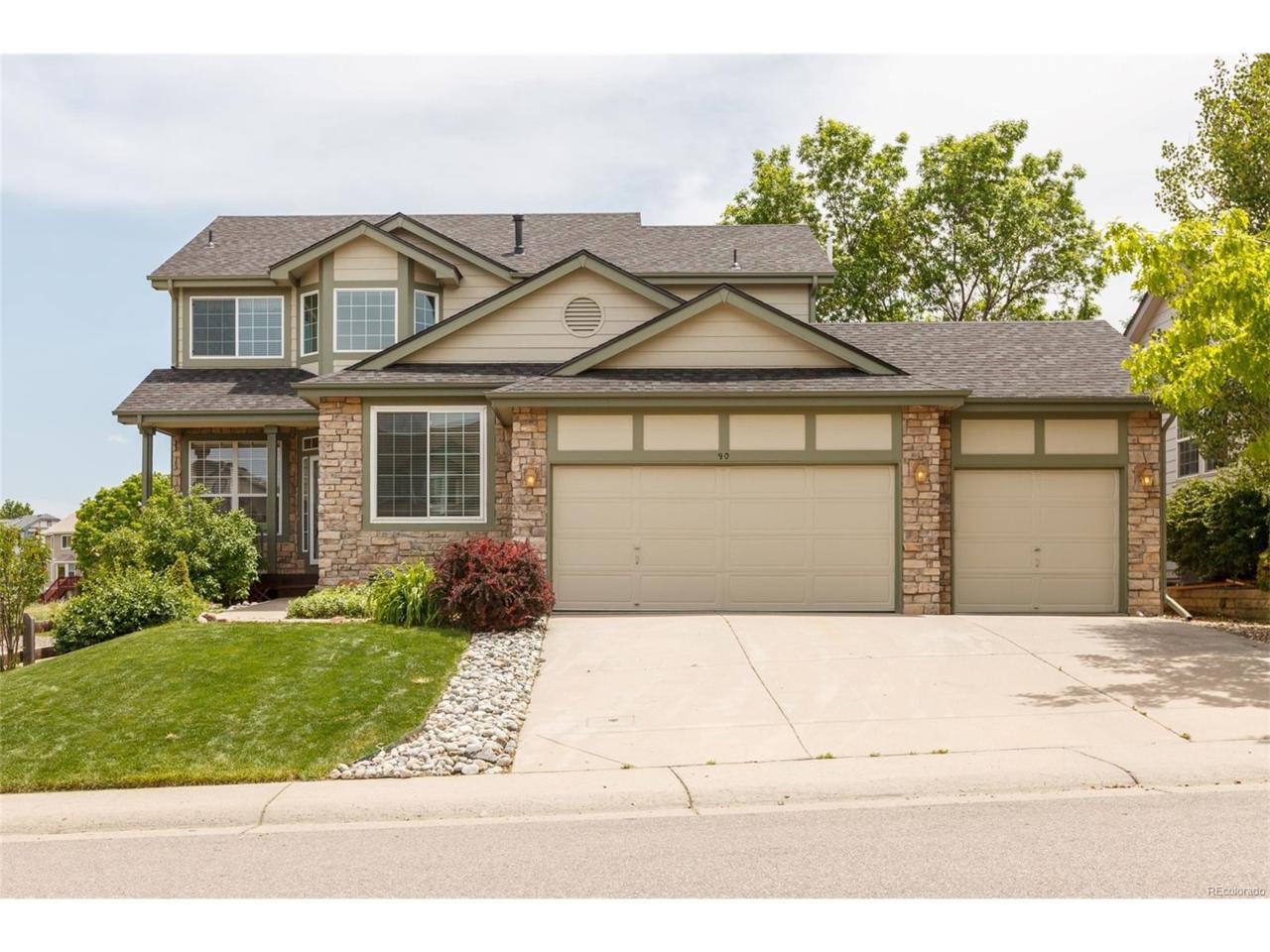 90 Burgundy Drive, Highlands Ranch, CO 80126 (MLS #4499114) :: 8z Real Estate