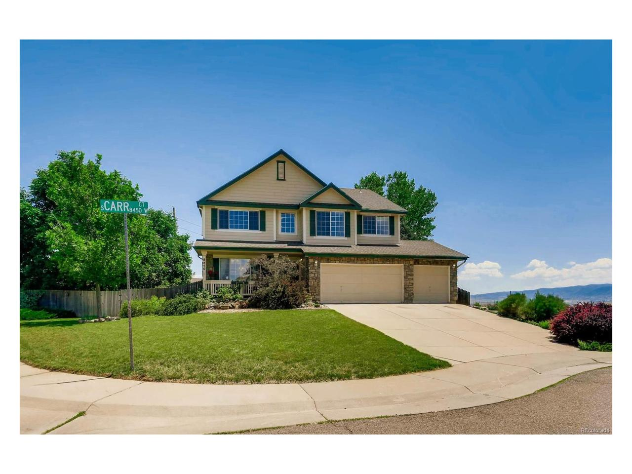 8850 S Carr Court, Littleton, CO 80128 (MLS #4627847) :: 8z Real Estate