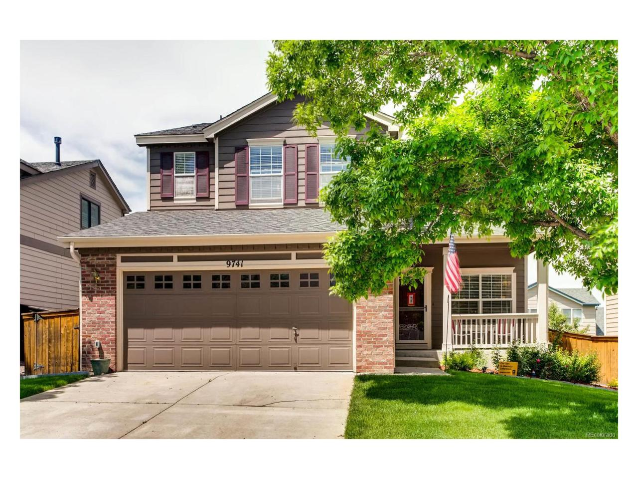 9741 Mulberry Street, Highlands Ranch, CO 80129 (MLS #4869845) :: 8z Real Estate