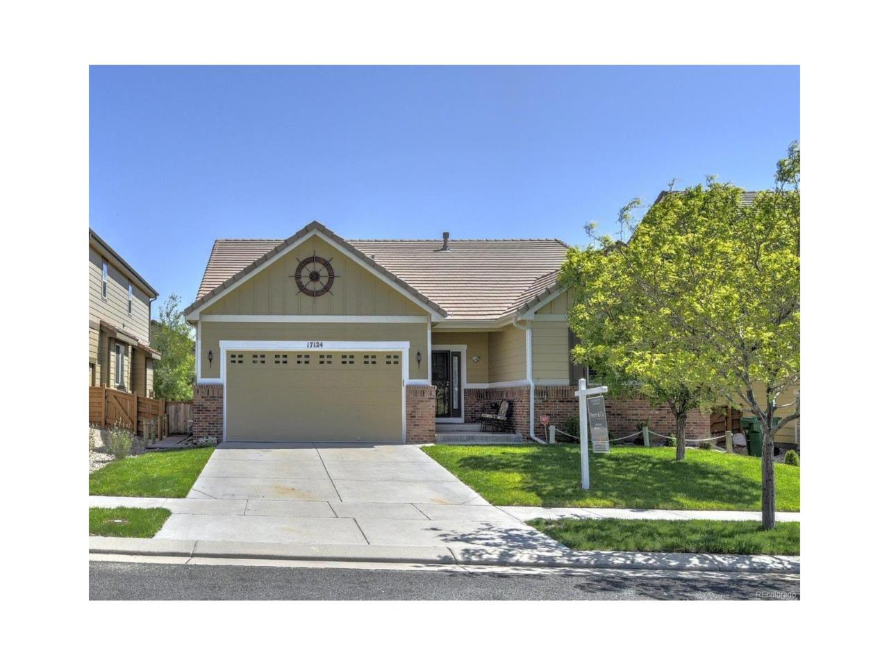 17124 E 102nd Place, Commerce City, CO 80022 (MLS #4944330) :: 8z Real Estate