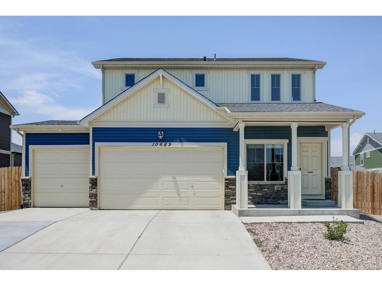 10669 Worchester Drive, Commerce City, CO 80022 (MLS #4972638) :: 8z Real Estate
