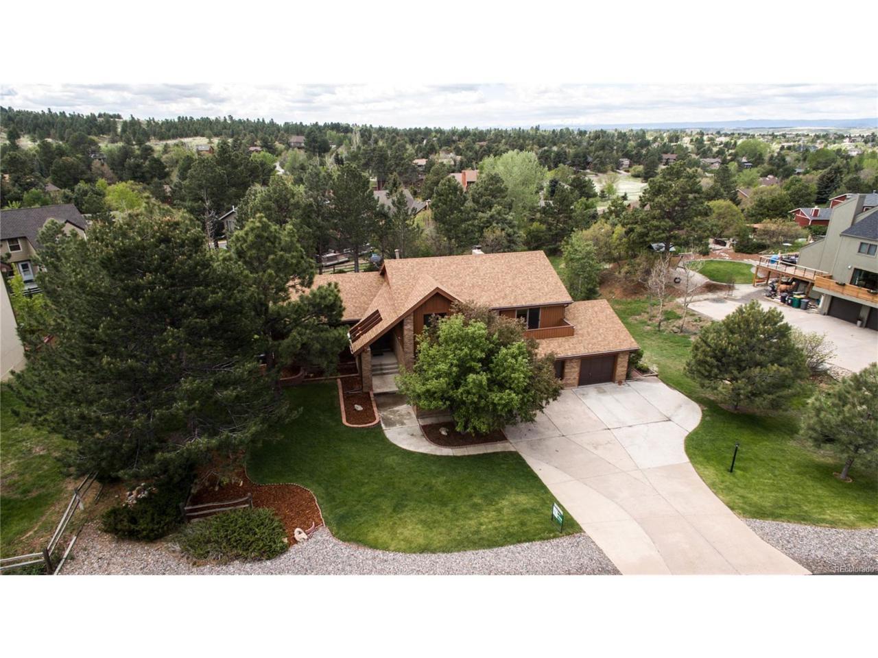 8218 Lakeshore Drive, Parker, CO 80134 (MLS #5012795) :: 8z Real Estate