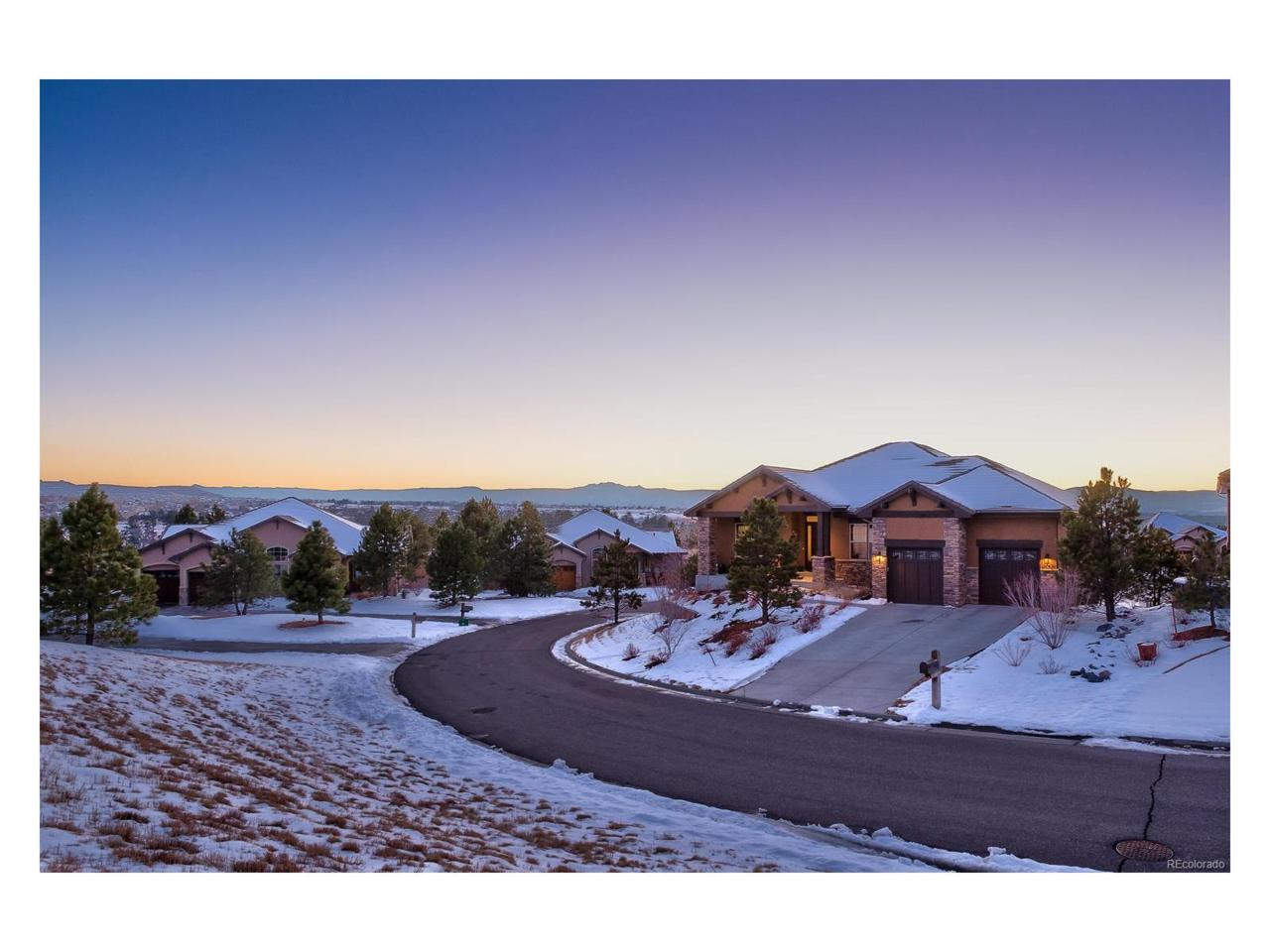 5049 Mcclure Lane, Castle Rock, CO 80108 (#5062303) :: The Peak Properties Group