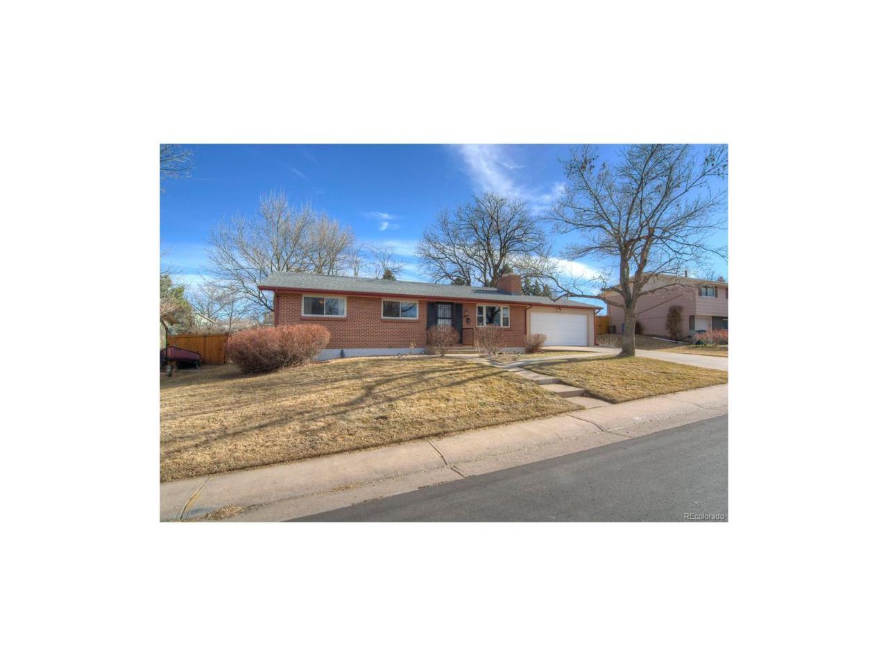 6844 S Cherry Street, Centennial, CO 80122 (#5163326) :: The Peak Properties Group