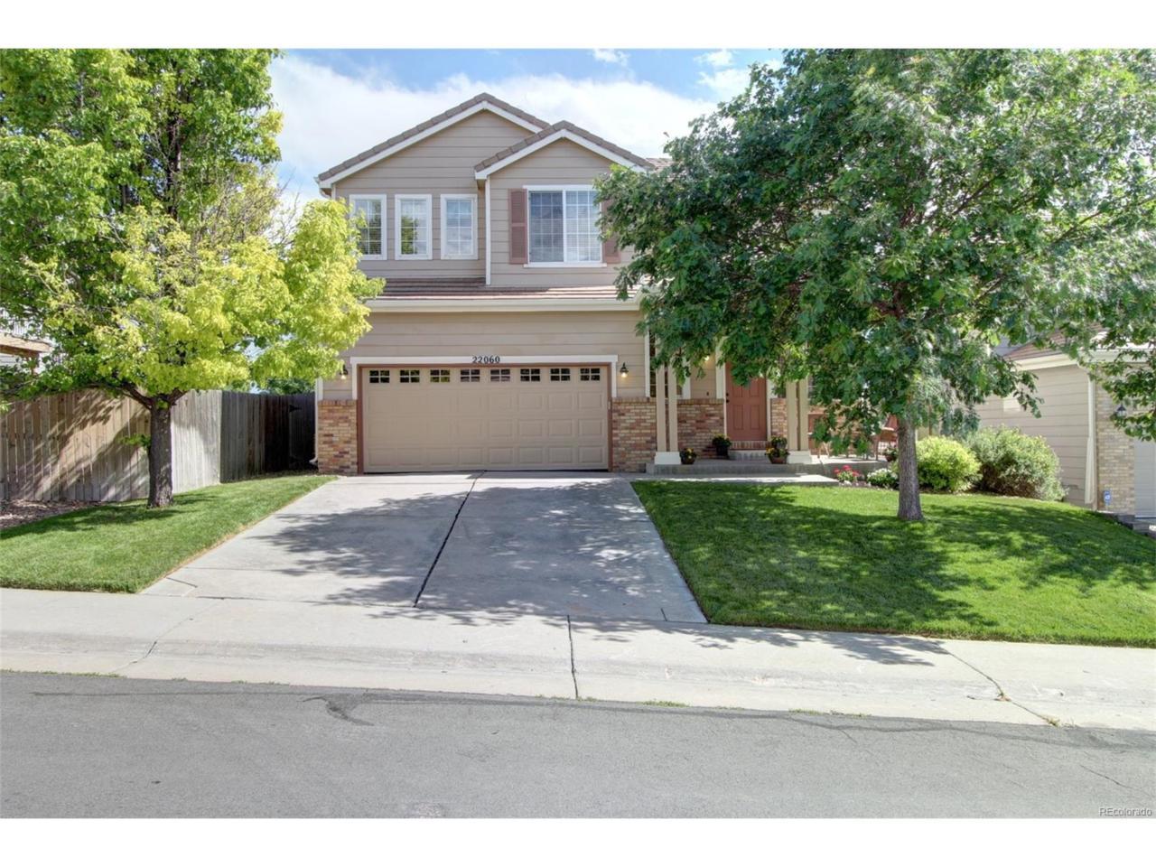 22060 E Belleview Place, Aurora, CO 80015 (MLS #5299205) :: 8z Real Estate