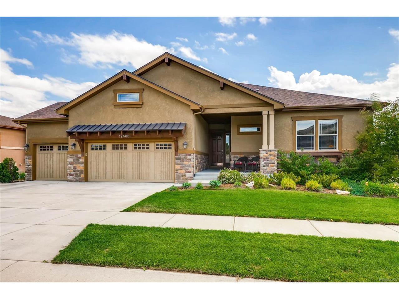 12466 Creekhurst Drive, Colorado Springs, CO 80921 (MLS #5334939) :: 8z Real Estate