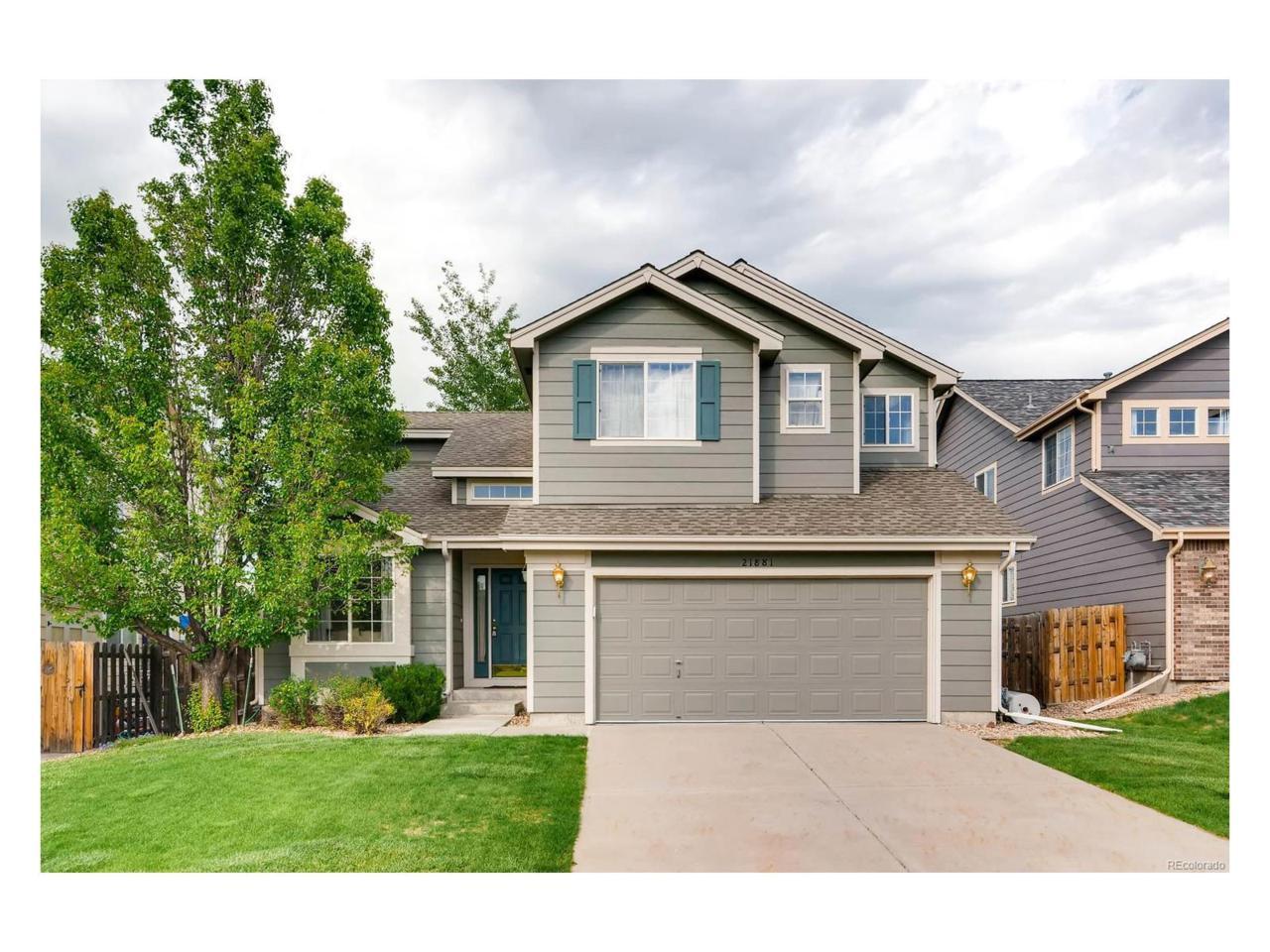 21881 E Berry Lane, Centennial, CO 80015 (MLS #5375883) :: 8z Real Estate