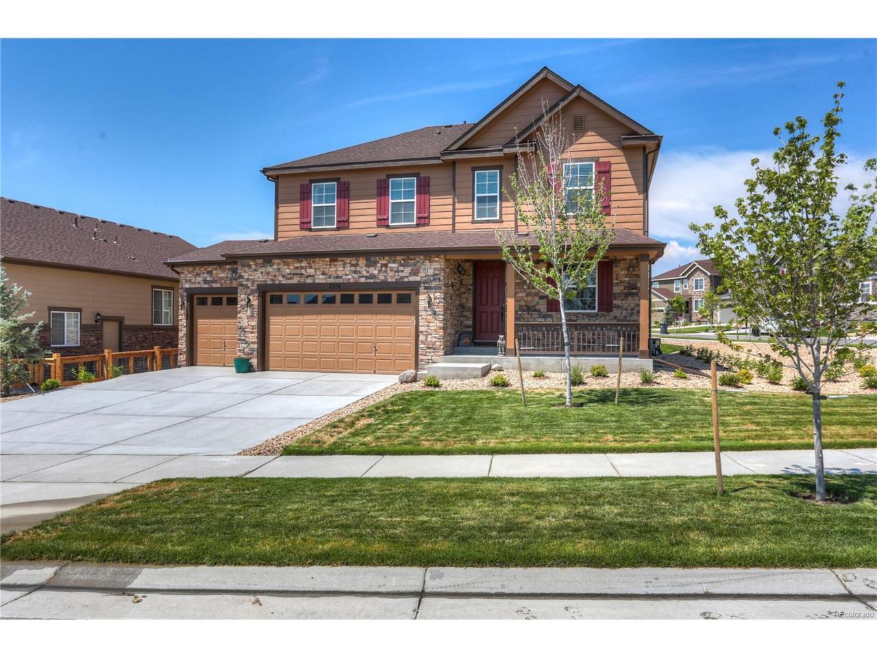 7251 S Old Hammer Way, Aurora, CO 80016 (MLS #5430005) :: 8z Real Estate
