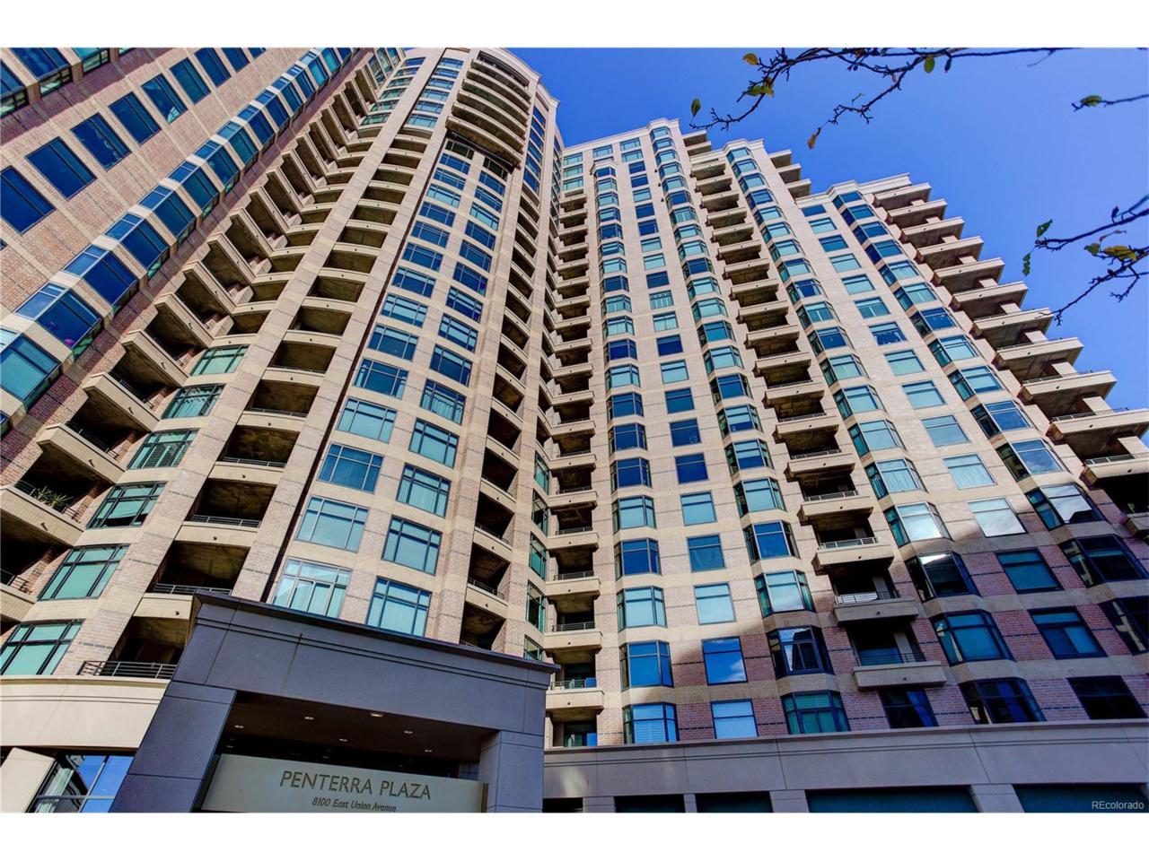 8100 E Union Avenue #2005, Denver, CO 80237 (#5577365) :: Thrive Real Estate Group