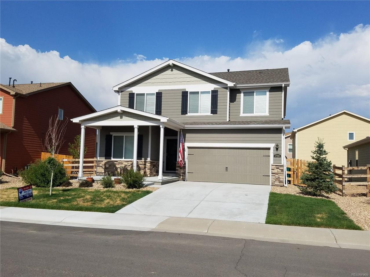 1790 Wildwood Street, Lochbuie, CO 80603 (MLS #5595965) :: 8z Real Estate