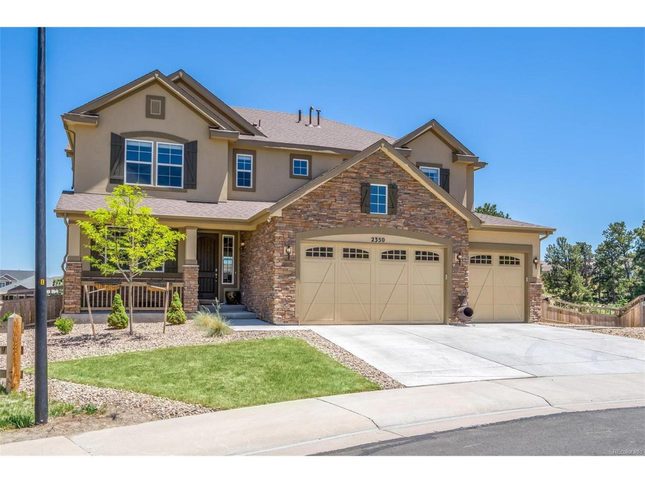 2350 Robin Song Court, Castle Rock, CO 80109 (MLS #5645304) :: 8z Real Estate