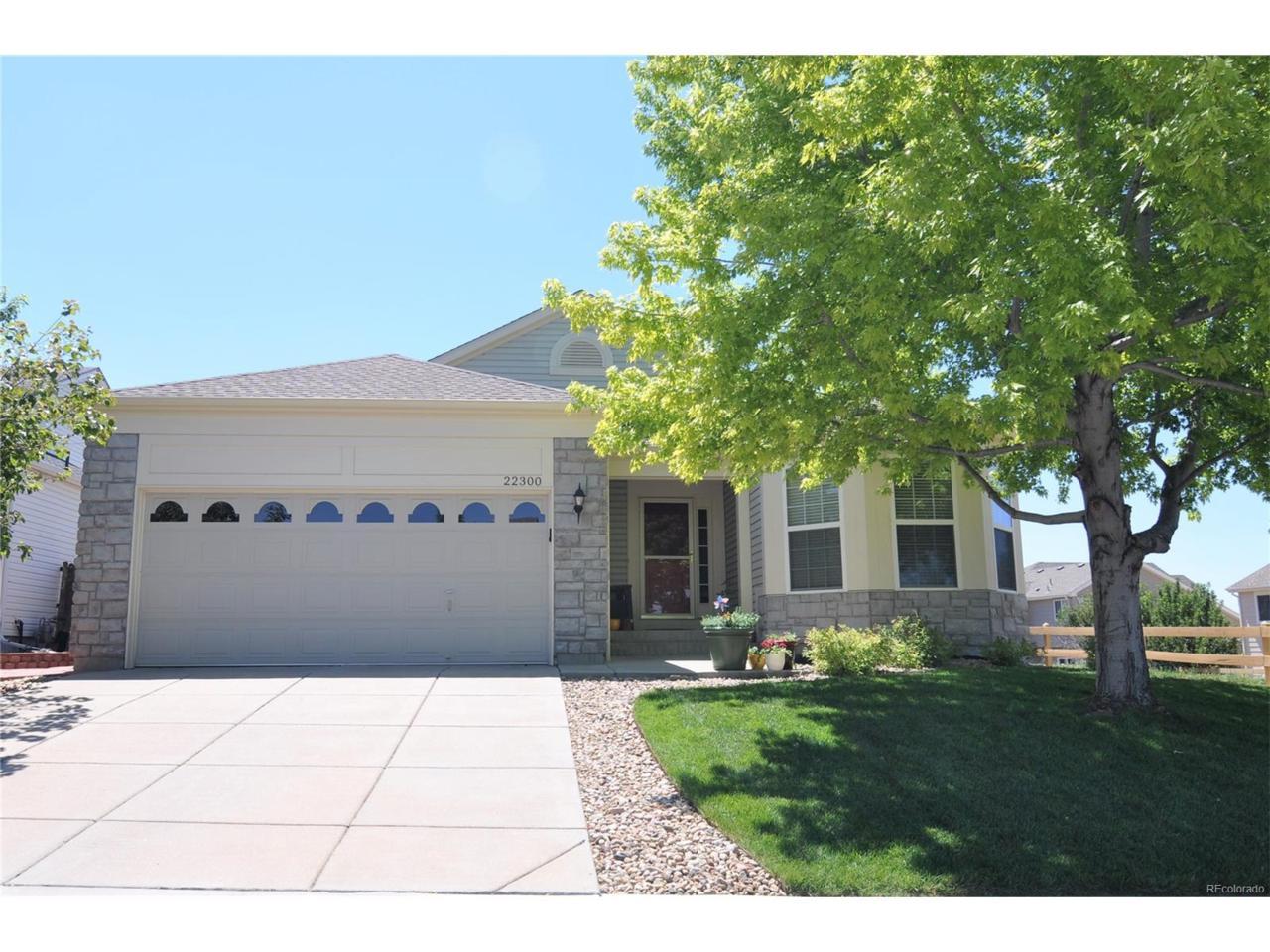 22300 E Dorado Avenue, Aurora, CO 80015 (MLS #5660755) :: 8z Real Estate
