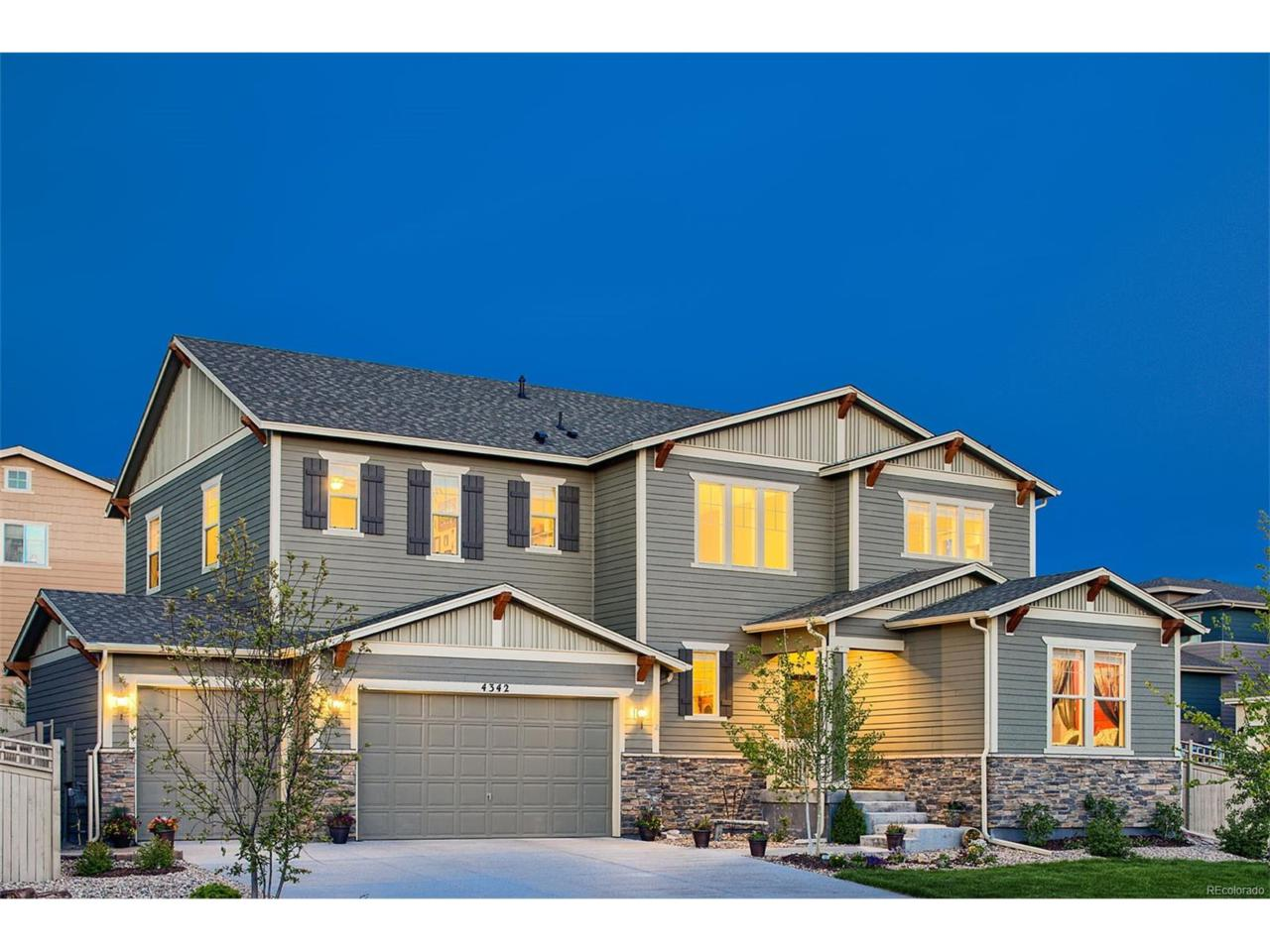 4342 Manorbrier Court, Castle Rock, CO 80104 (MLS #5673185) :: 8z Real Estate