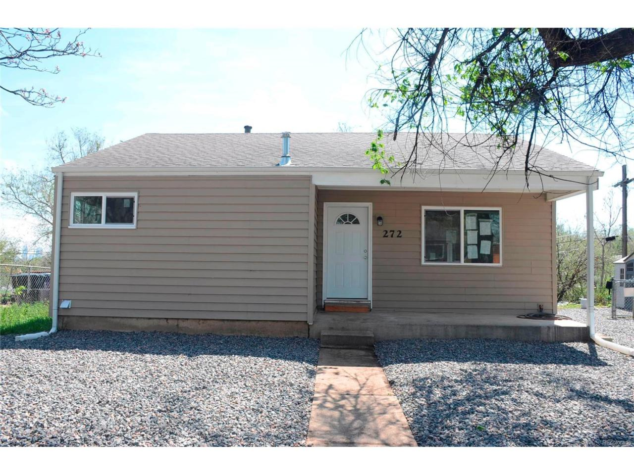 272 S Xavier Street, Denver, CO 80219 (MLS #5815593) :: 8z Real Estate