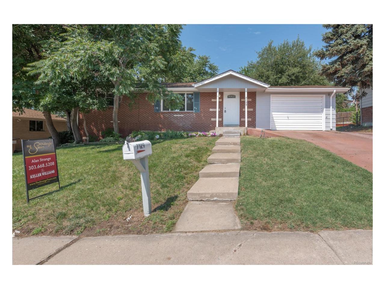 7129 Otis Court, Arvada, CO 80003 (MLS #5935948) :: 8z Real Estate