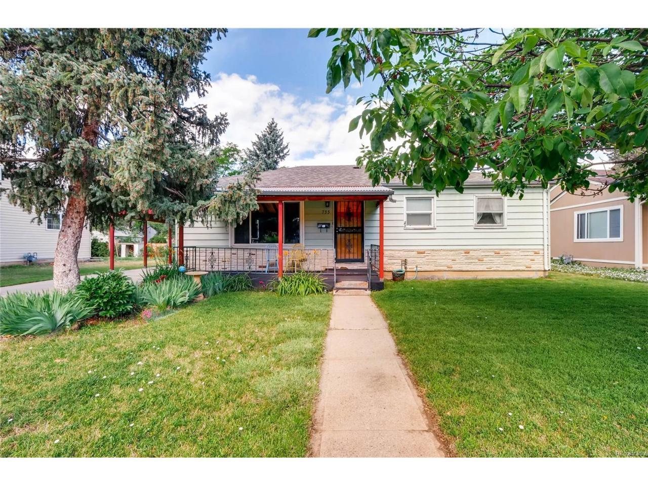 735 Ironton Street, Aurora, CO 80010 (MLS #6012077) :: 8z Real Estate