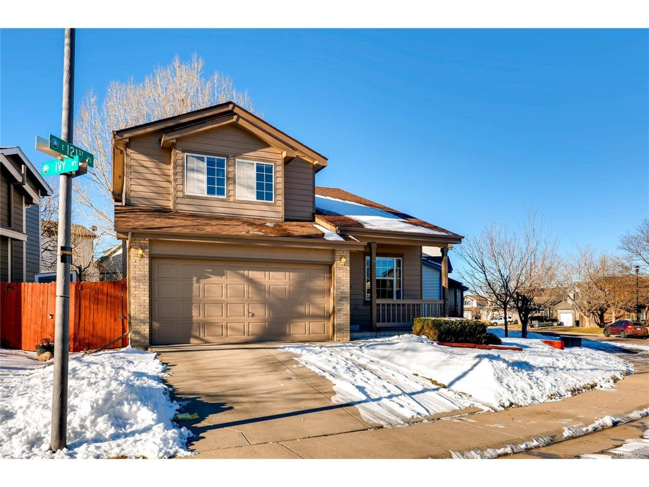 5992 E 121st Place, Brighton, CO 80602 (#6029068) :: The Peak Properties Group