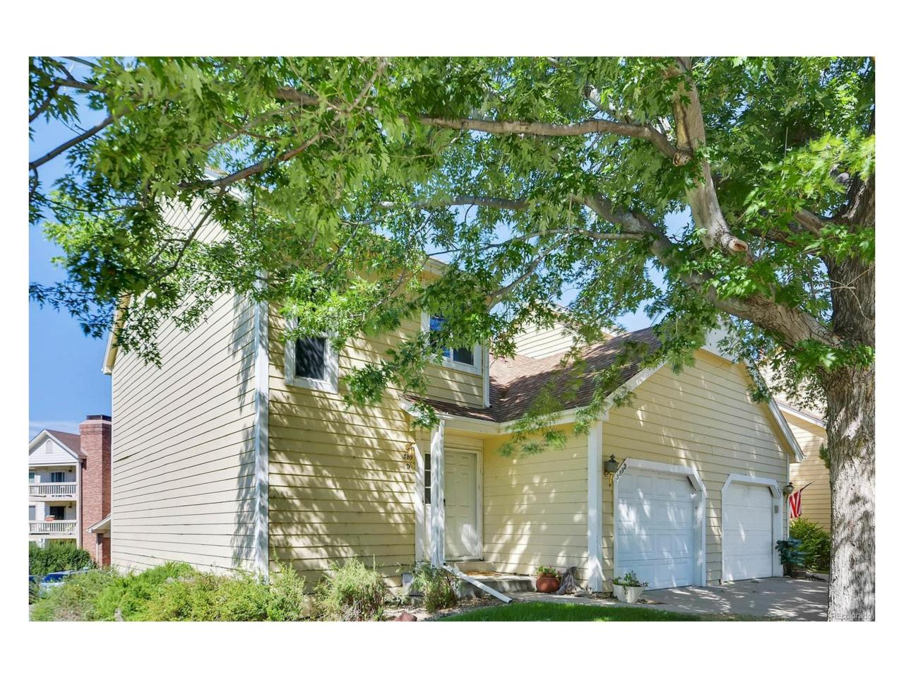 389 S Kalispell Way D, Aurora, CO 80017 (MLS #6101001) :: 8z Real Estate