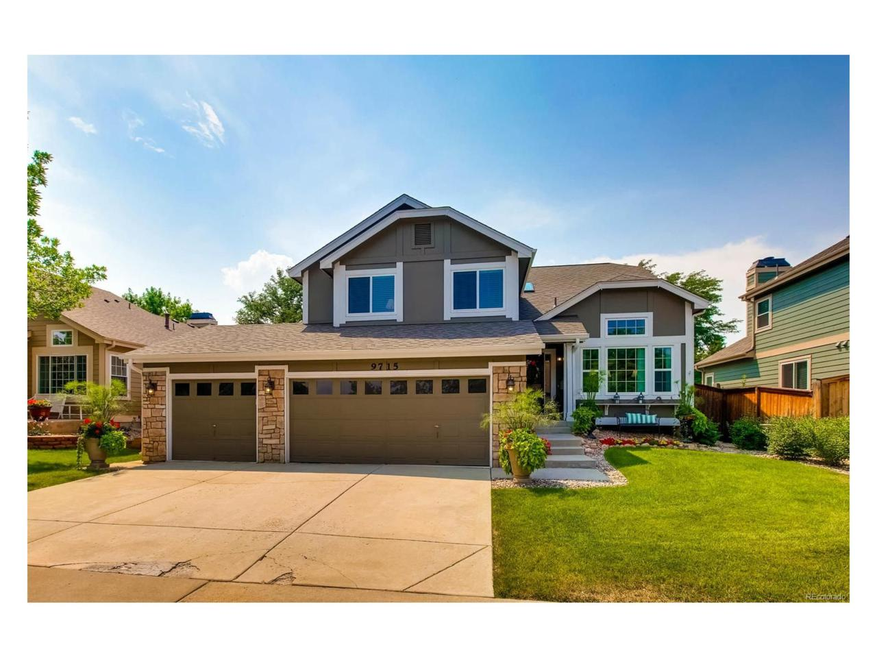 9715 Wedgewood Drive, Highlands Ranch, CO 80126 (MLS #6175531) :: 8z Real Estate