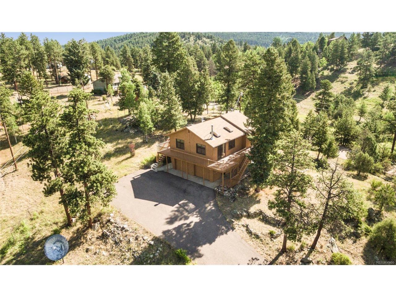 13606 Wamblee Trail, Conifer, CO 80433 (MLS #6183665) :: 8z Real Estate