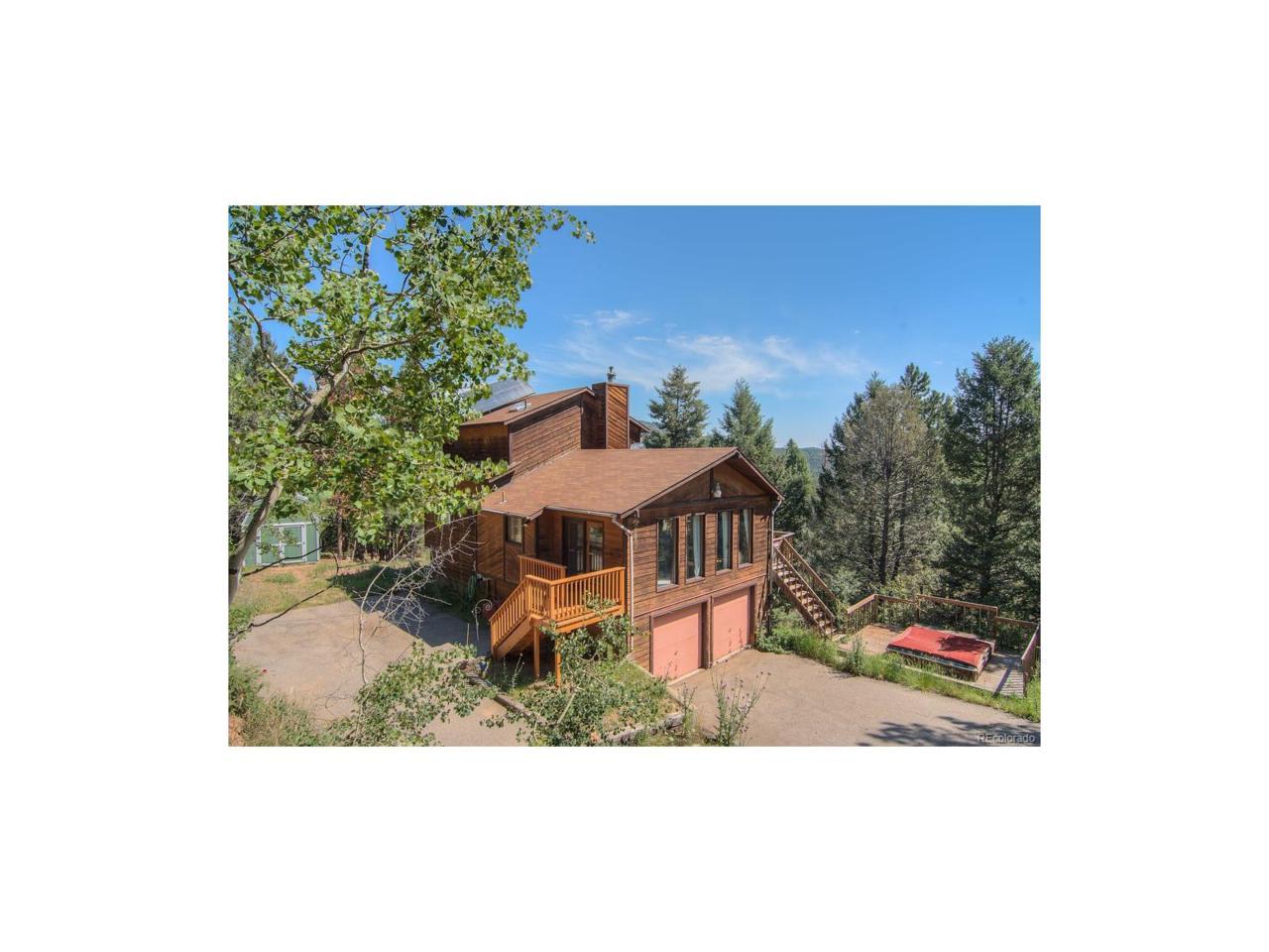 11764 Little Turtle Lane, Conifer, CO 80433 (MLS #6203047) :: 8z Real Estate