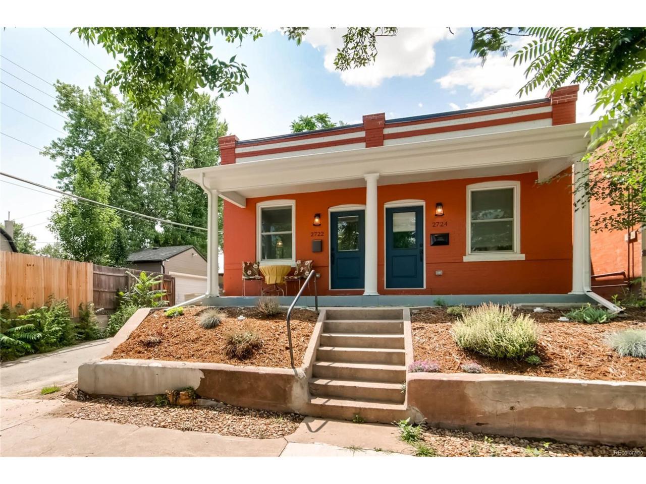2722 W 33rd Avenue, Denver, CO 80211 (MLS #6229778) :: 8z Real Estate