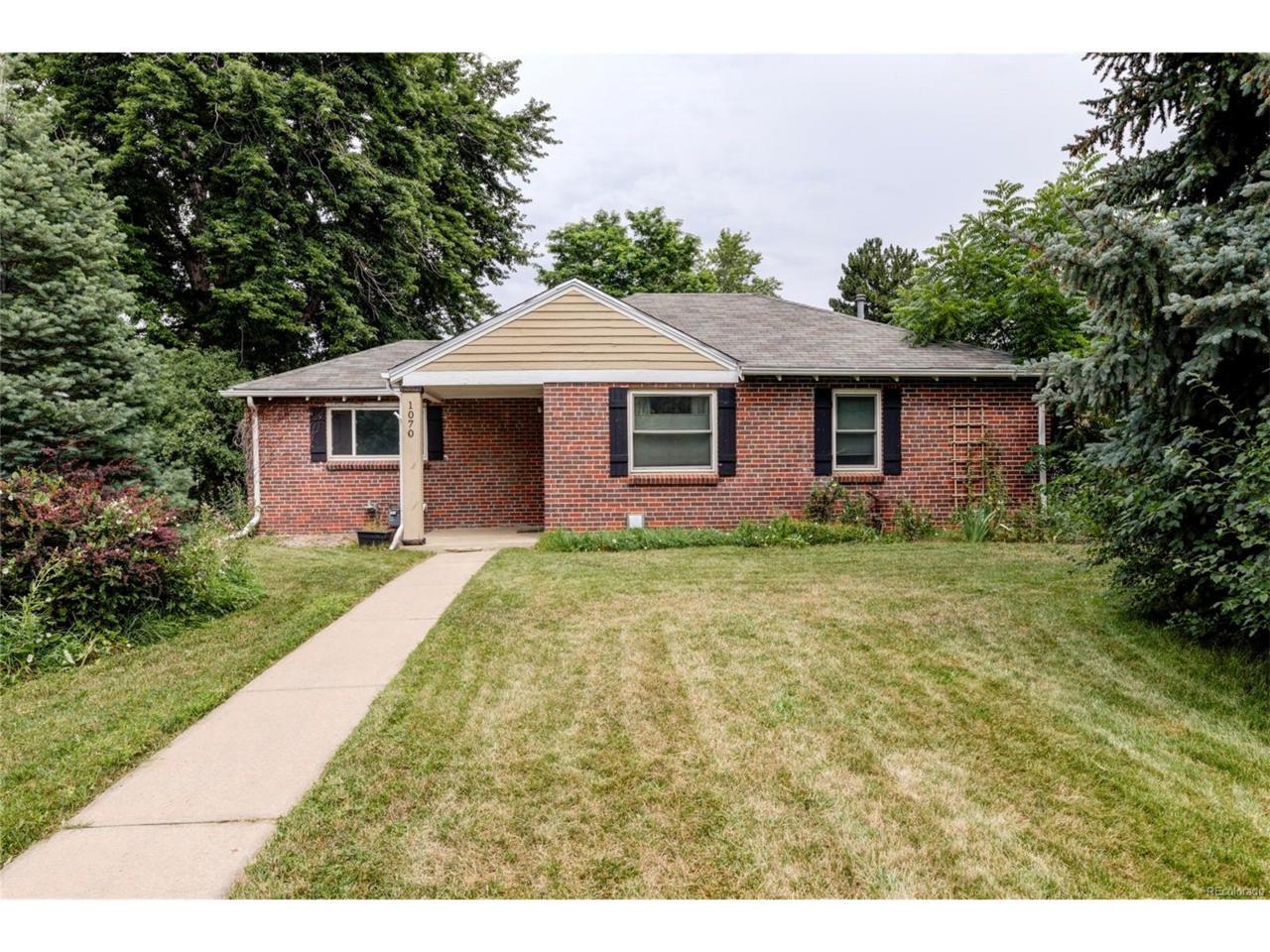 1070 Krameria Street, Denver, CO 80220 (MLS #6264463) :: 8z Real Estate