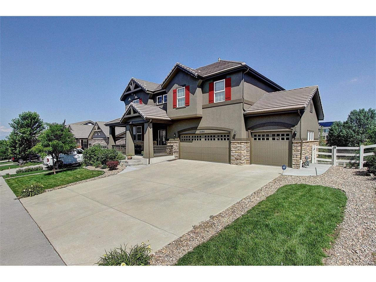 21195 E Eastman Avenue, Aurora, CO 80013 (MLS #6310231) :: 8z Real Estate