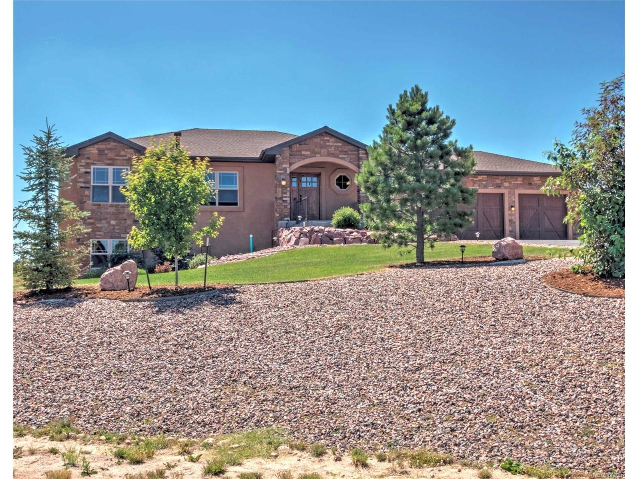 17384 Cabin Hill Lane, Colorado Springs, CO 80908 (MLS #6449825) :: 8z Real Estate