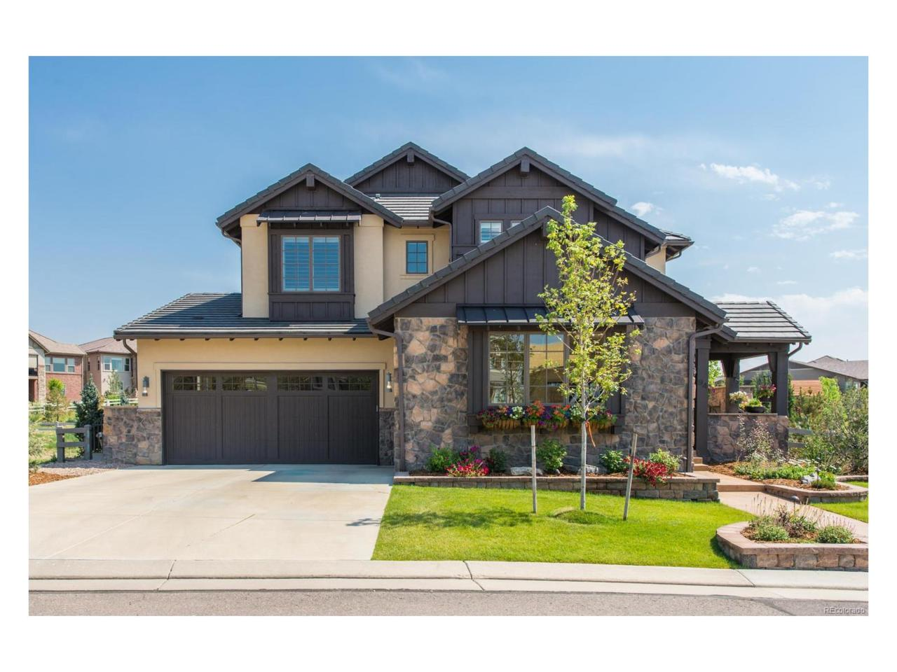 94 Flowerburst Way, Highlands Ranch, CO 80126 (#6480308) :: The Peak Properties Group