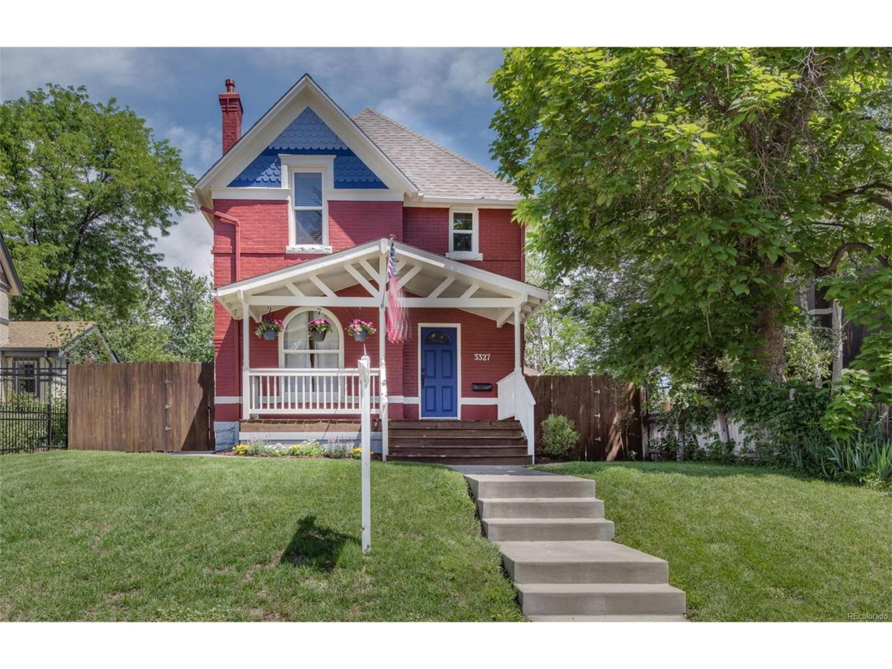 3327 W 29th Avenue, Denver, CO 80211 (MLS #6571631) :: 8z Real Estate