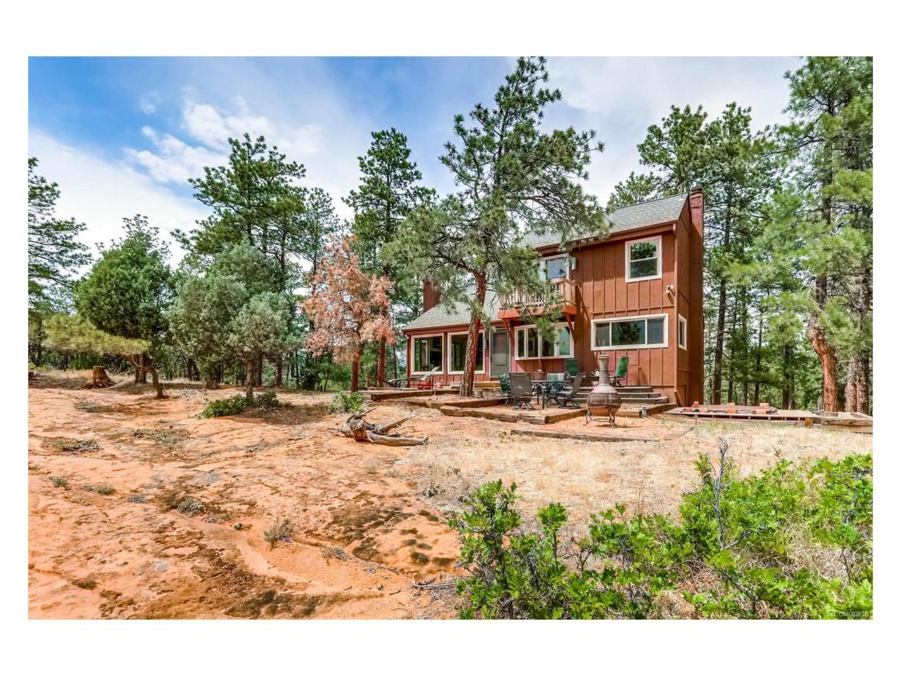 4611 Cheyenne Drive, Larkspur, CO 80118 (MLS #6572144) :: 8z Real Estate