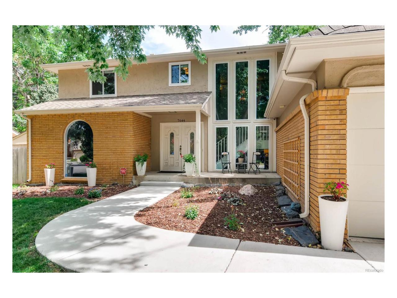 7644 E Jefferson Drive, Denver, CO 80237 (MLS #6602112) :: 8z Real Estate