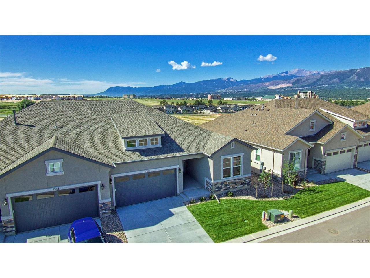 1530 Promontory Bluff View, Colorado Springs, CO 80921 (MLS #6638438) :: 8z Real Estate