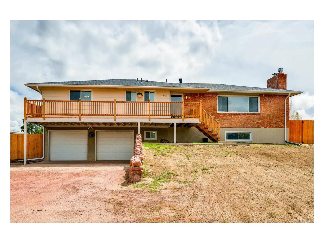 1765 Shrider Road, Colorado Springs, CO 80920 (MLS #6674941) :: 8z Real Estate