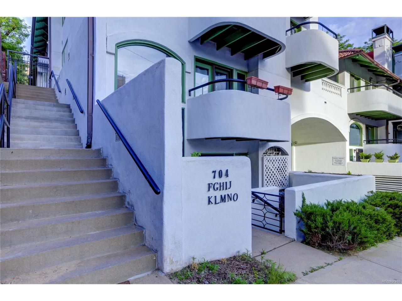 704 Pearl Street #209, Denver, CO 80203 (#6747164) :: Thrive Real Estate Group