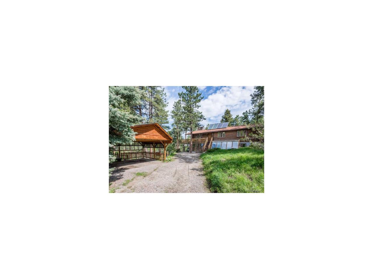 29741 Dorothy Road, Evergreen, CO 80439 (MLS #6774426) :: 8z Real Estate
