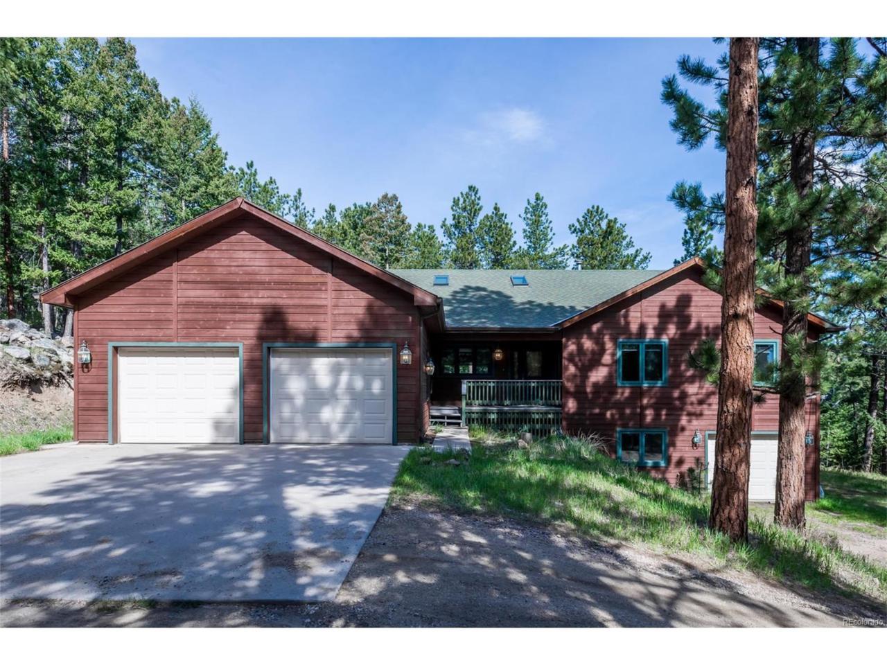 1546 Bluebird Drive, Bailey, CO 80421 (MLS #6798684) :: 8z Real Estate