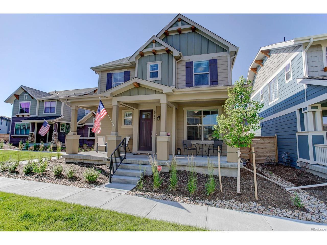 5266 Beeler Street, Denver, CO 80238 (MLS #6938768) :: 8z Real Estate