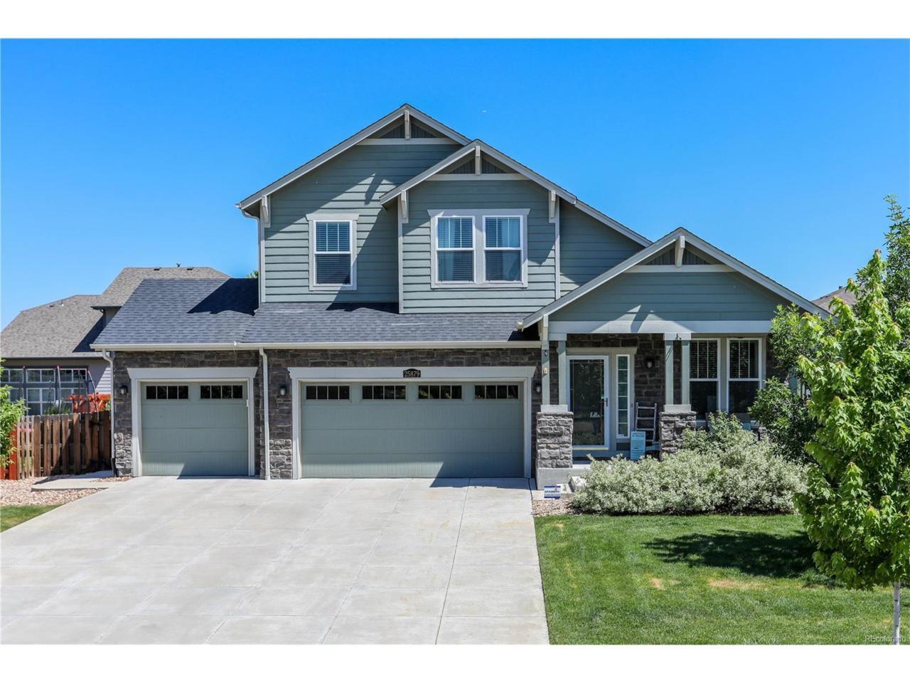 25879 E 3rd Avenue, Aurora, CO 80018 (MLS #7001109) :: 8z Real Estate