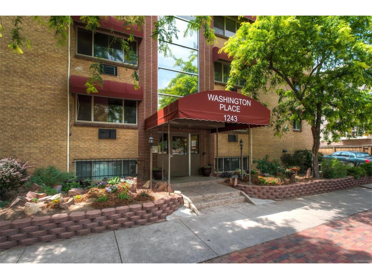 1243 Washington Street #407, Denver, CO 80302 (MLS #7058794) :: 8z Real Estate