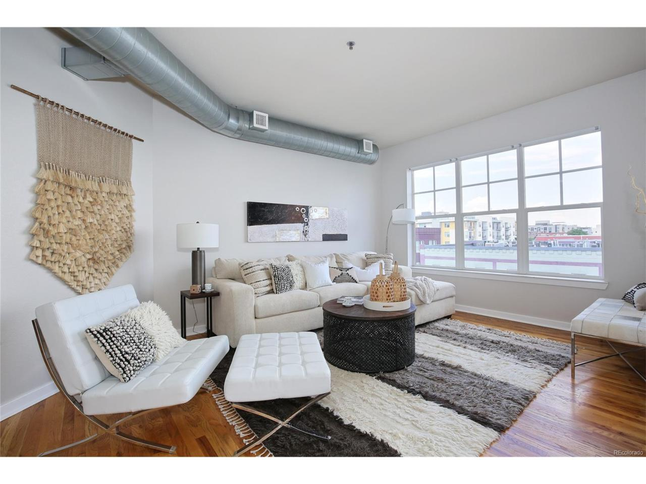 1441 Central Street #501, Denver, CO 80211 (MLS #7124152) :: 8z Real Estate
