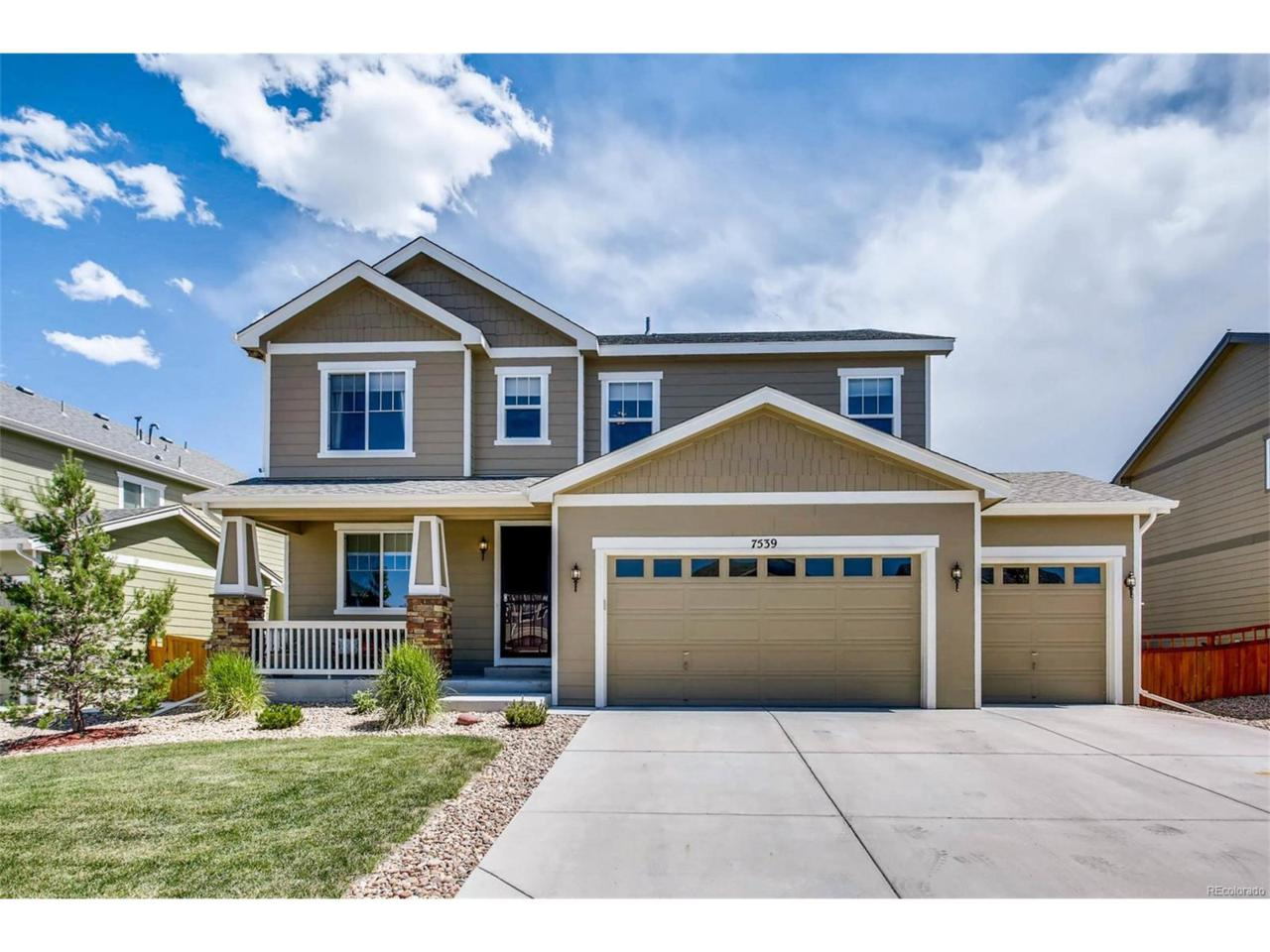 7539 Grady Circle, Castle Rock, CO 80108 (MLS #7194360) :: 8z Real Estate