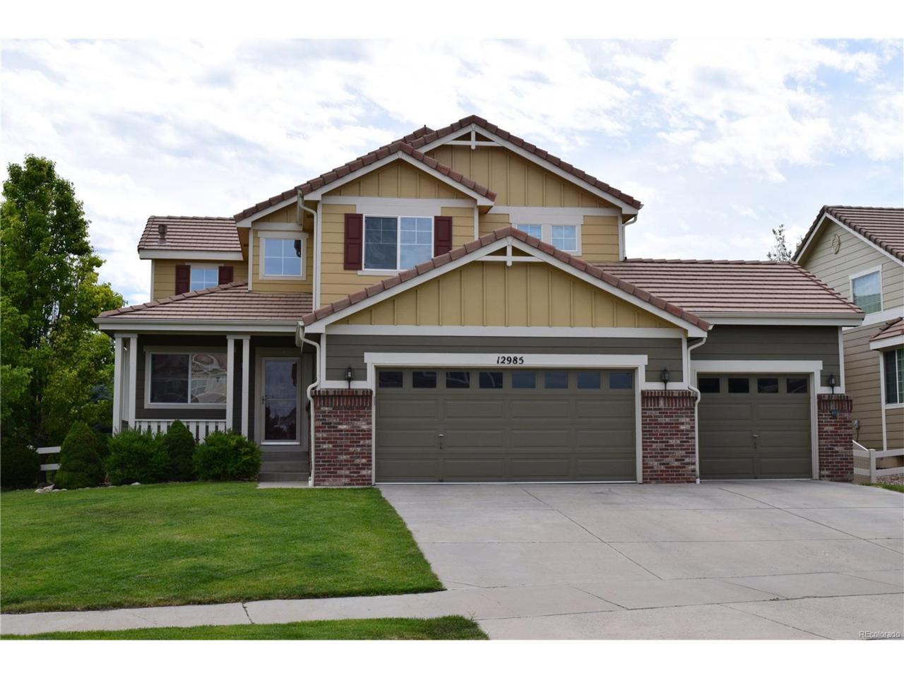 12985 Banyon Circle, Parker, CO 80134 (MLS #7261395) :: 8z Real Estate