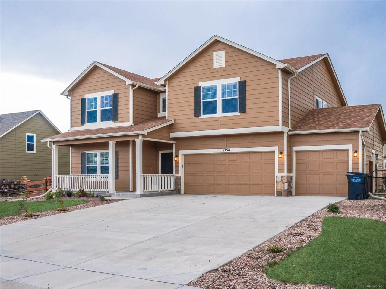 7158 Honeycomb Drive, Peyton, CO 80831 (MLS #7269964) :: 8z Real Estate